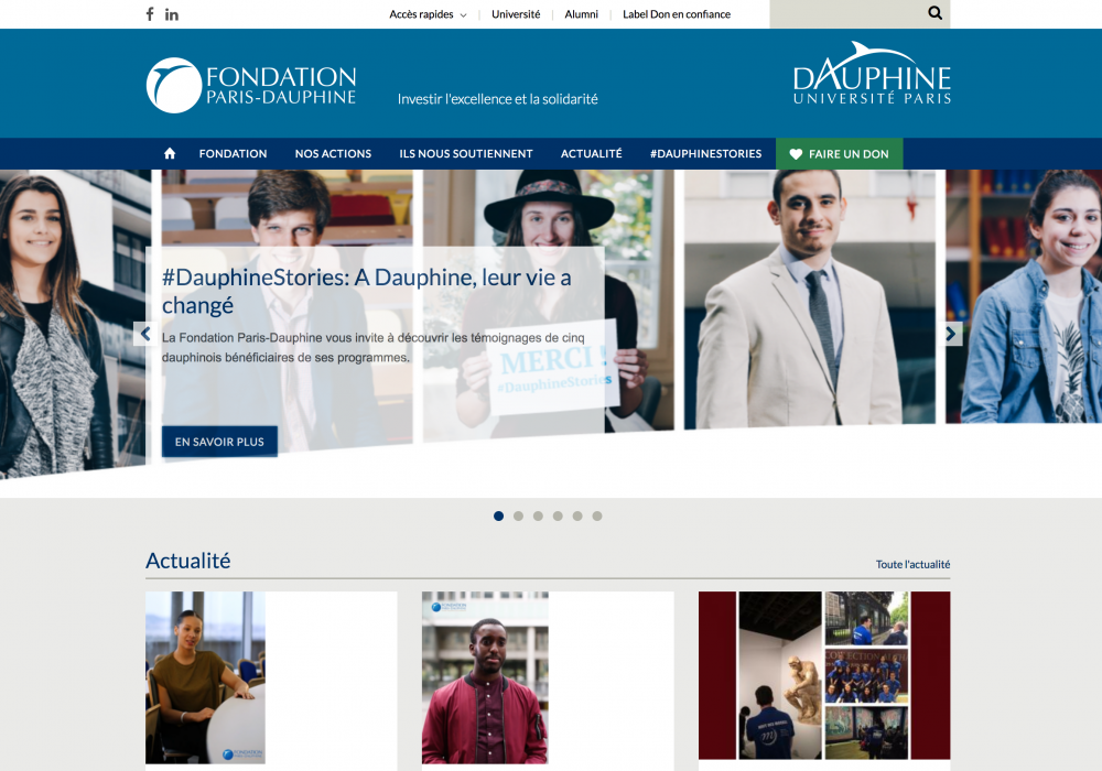 Fondation Paris-Dauphine
