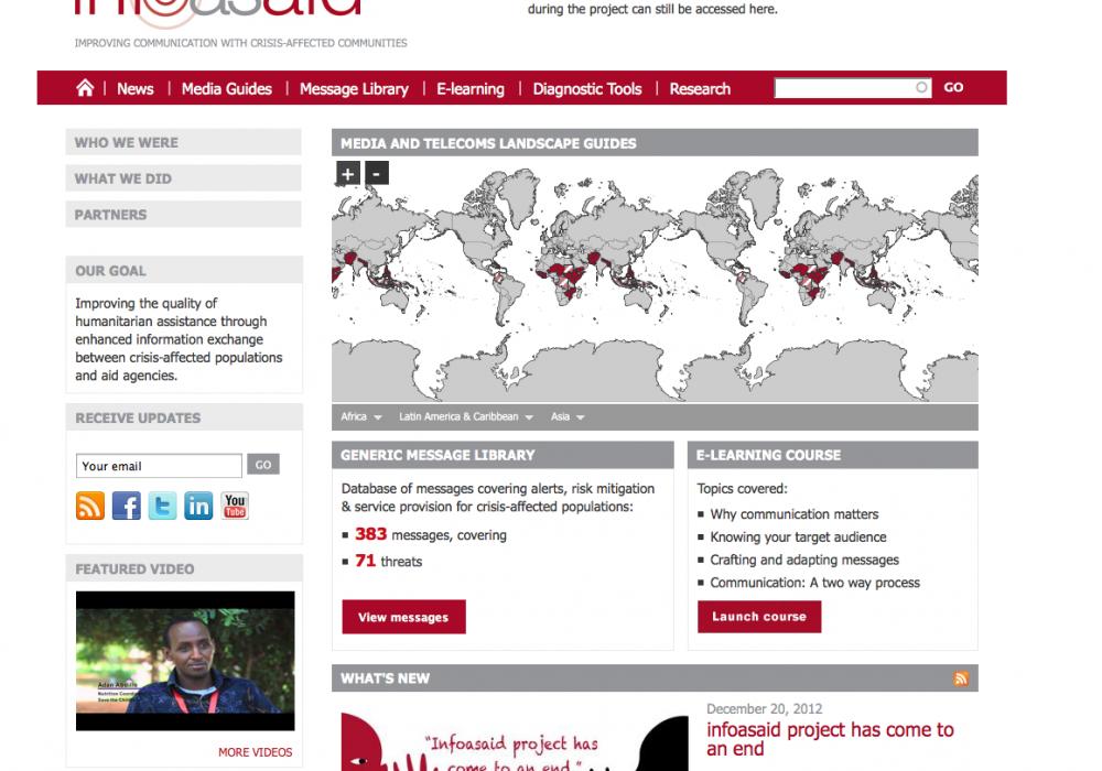 InfoAsAid - BBC