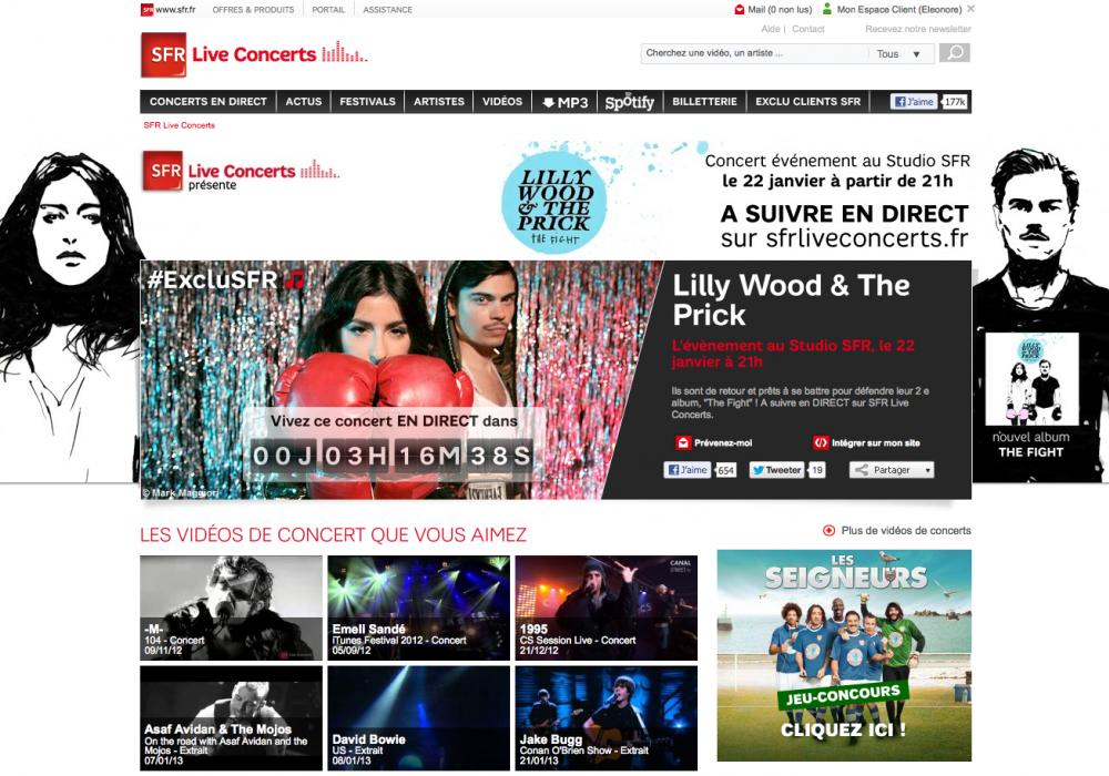 SFR Live Concert