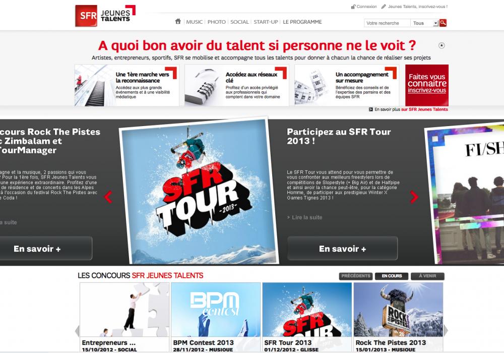 SFR Jeunes Talents